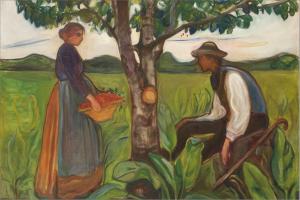 Edvard Munch: Fertility, 1899–1900. Canica Art Collection