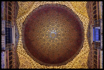 Ceiling in Real Alcázar