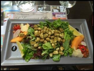 Froglegs Salad