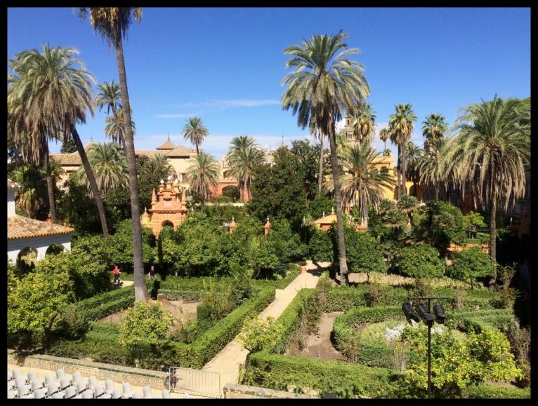 Real Alcázar garden