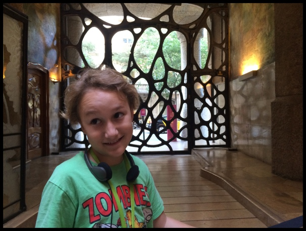 The entrways to Casa Milá are really cool!