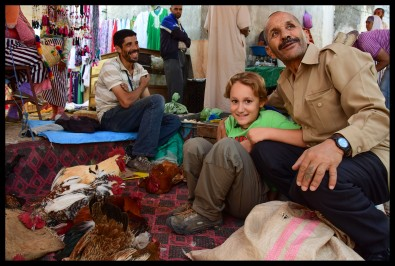 Chickens in a Berber Market