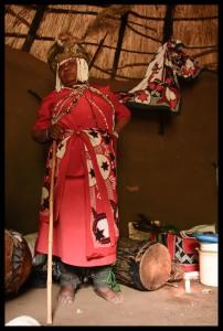 Traditional Lesotho Healer