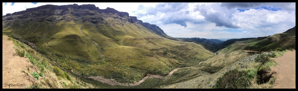 The Twelve Apostles on our way up to Sani Pass.