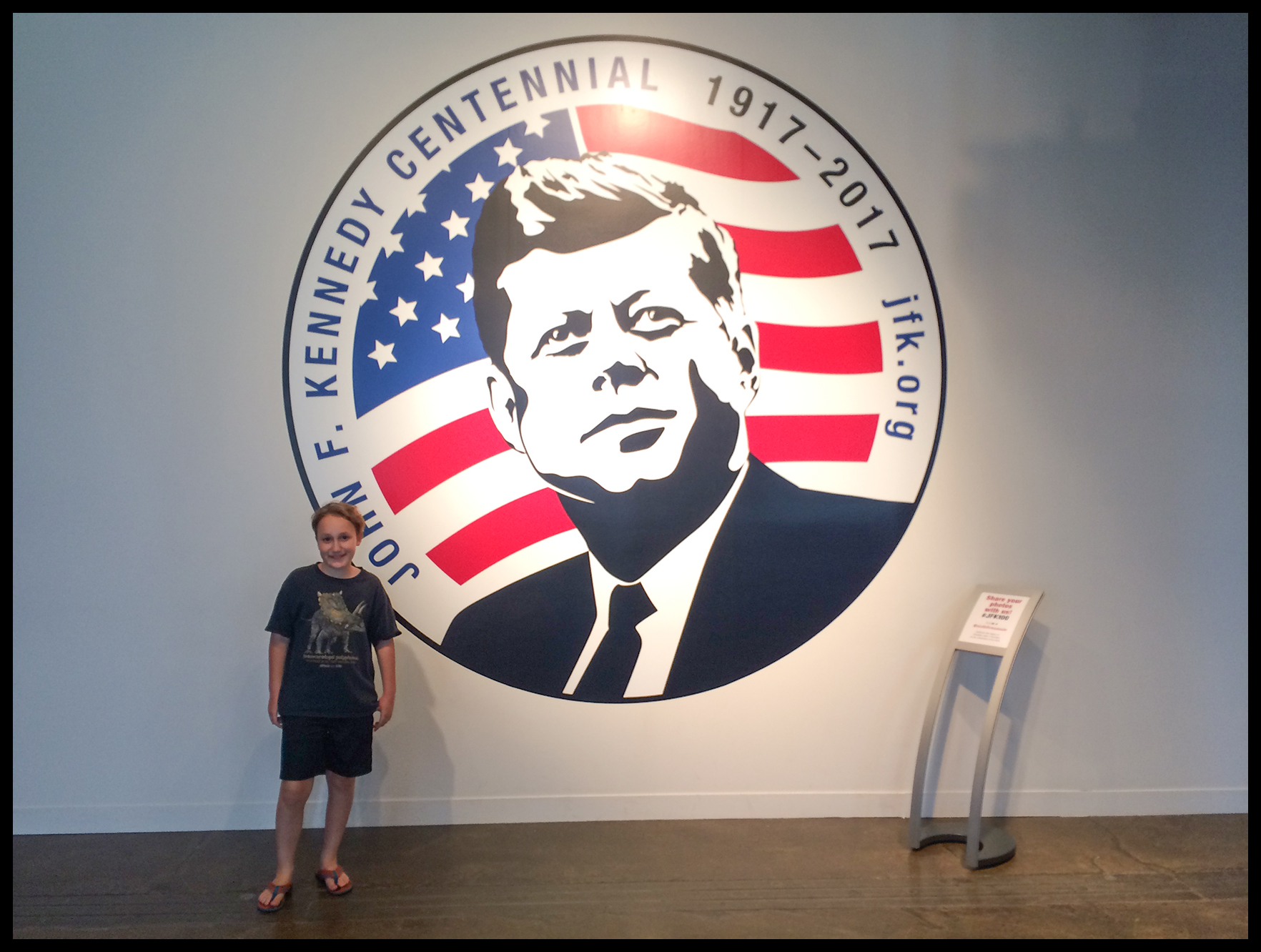 Over The Course Of Several Hours, Our Audioguides Talked About John F.  Kennedy Being Elected President, ...