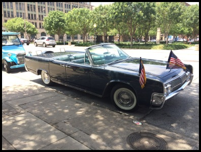President Kennedy's car was similar to this one.